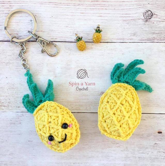 10 Frutas en Amigurumi con Patrón Gratis - Arte Friki