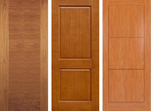 Model Daun Pintu Tunggal Rumah Minimalis