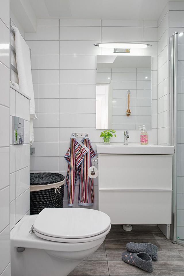 Baños cálidos, bonitos y funcionales: almacenaje . La ...