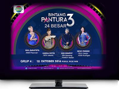 Bintang Pantura 3 Babak 24 Besar Grup 4 Minggu 10 Oktober 2016