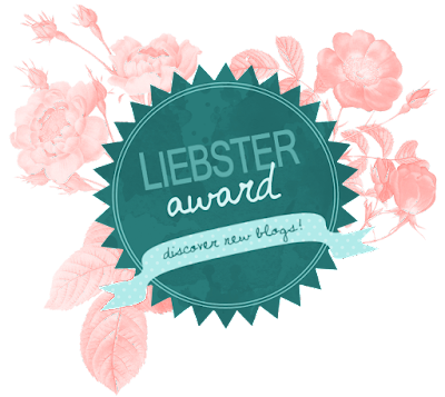 The 2017 Liebster award.