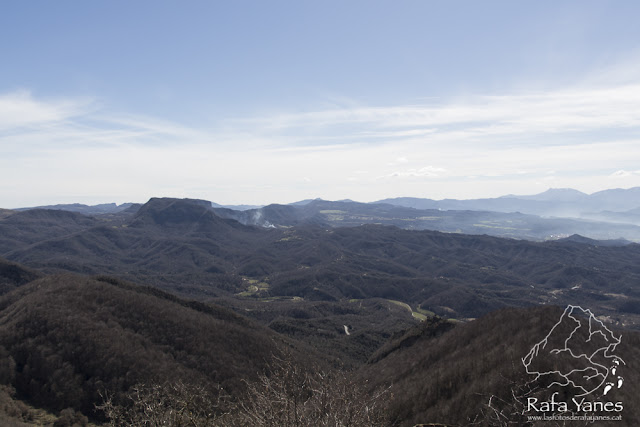 Ruta: Puigsacalm (1.515 m) y Puig de les Àligues (1.344 m) (Els 100 Cims)
