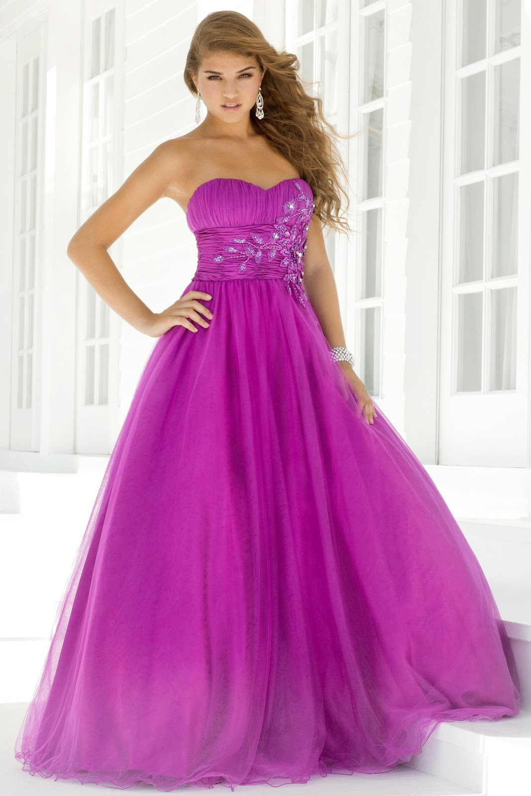 D Shade Z Perfect Purple Gowns
