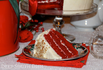 Mama's Red Velvet Cake and Cookbook Giveaway!