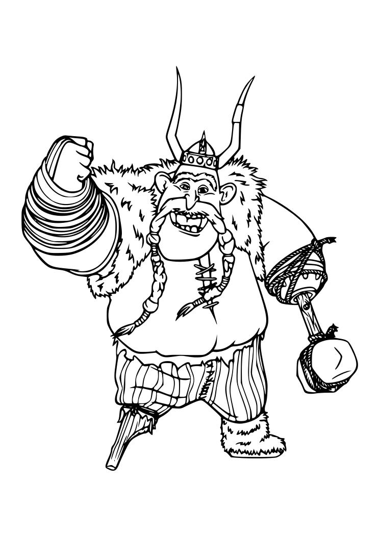 Dibujos Para Colorear De Dragones Los Jinetes De Mema
