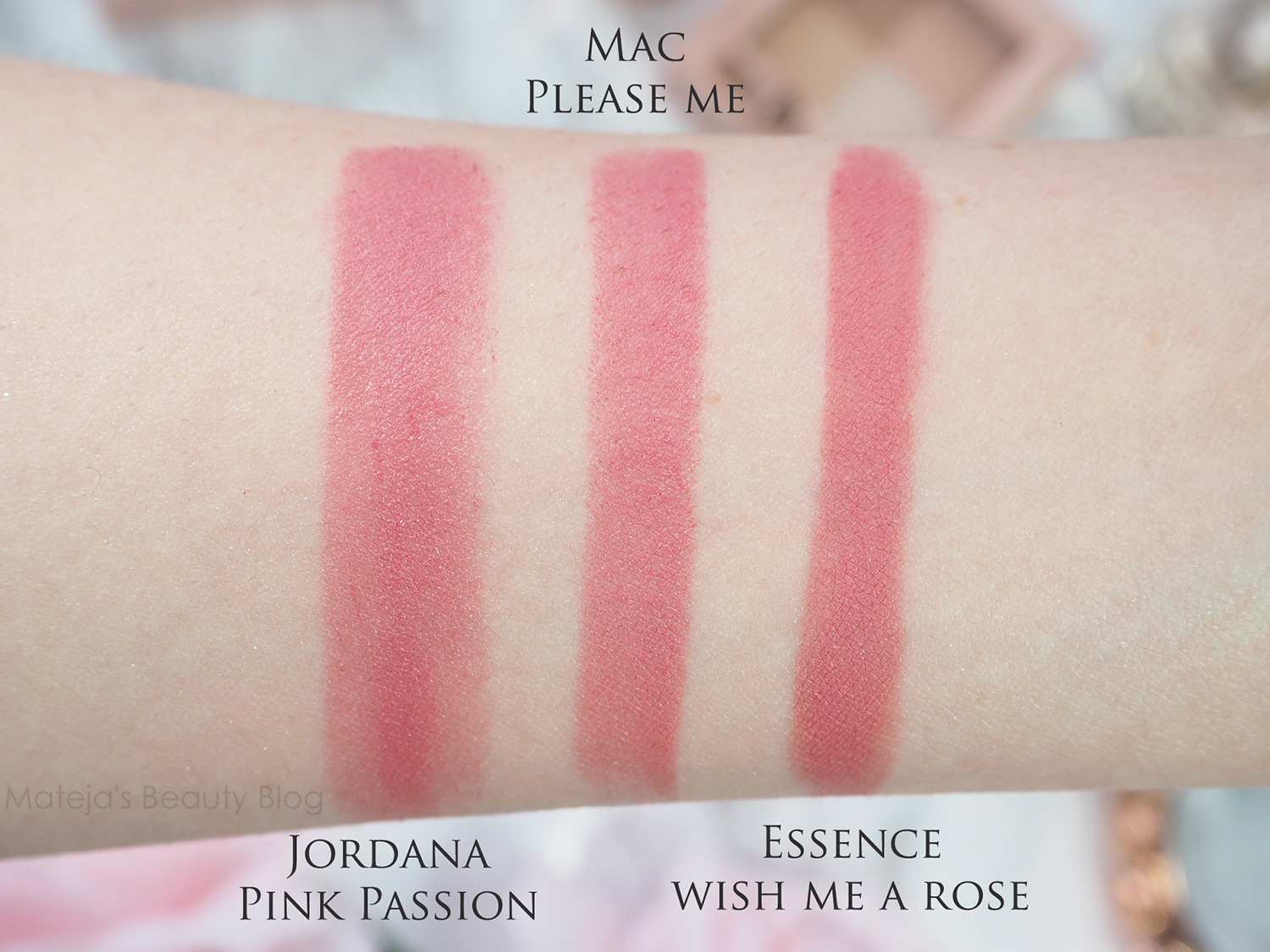 Top 20 Mac lipstick swatched plus their dupes - Mateja's Beauty Blog LS06