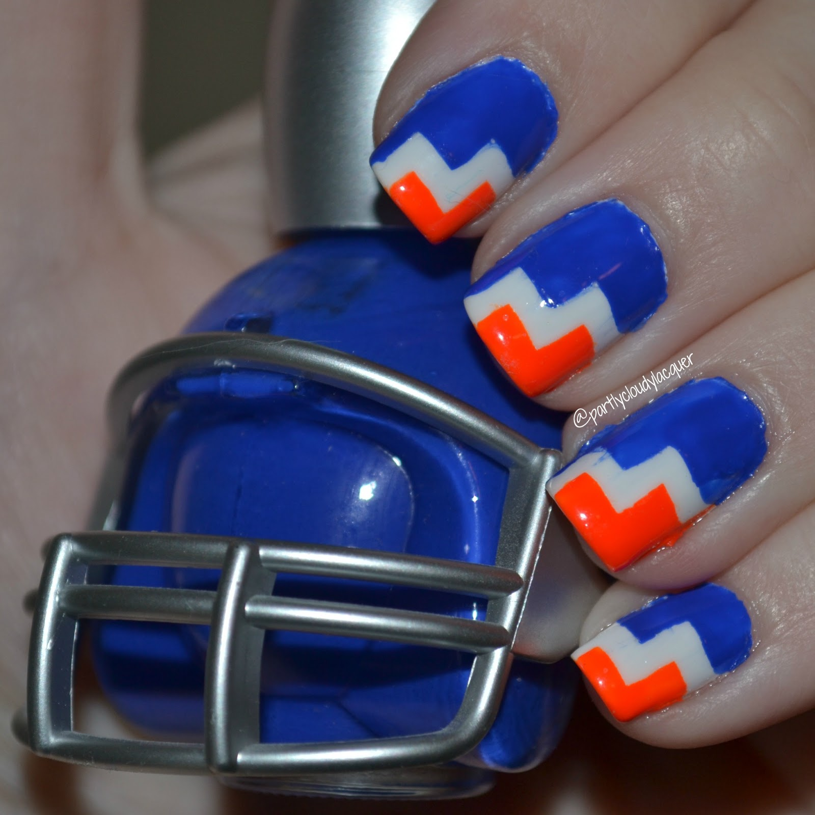 Florida Gator Nails: 2012-16 | Partly Cloudy With a Chance of Lacquer