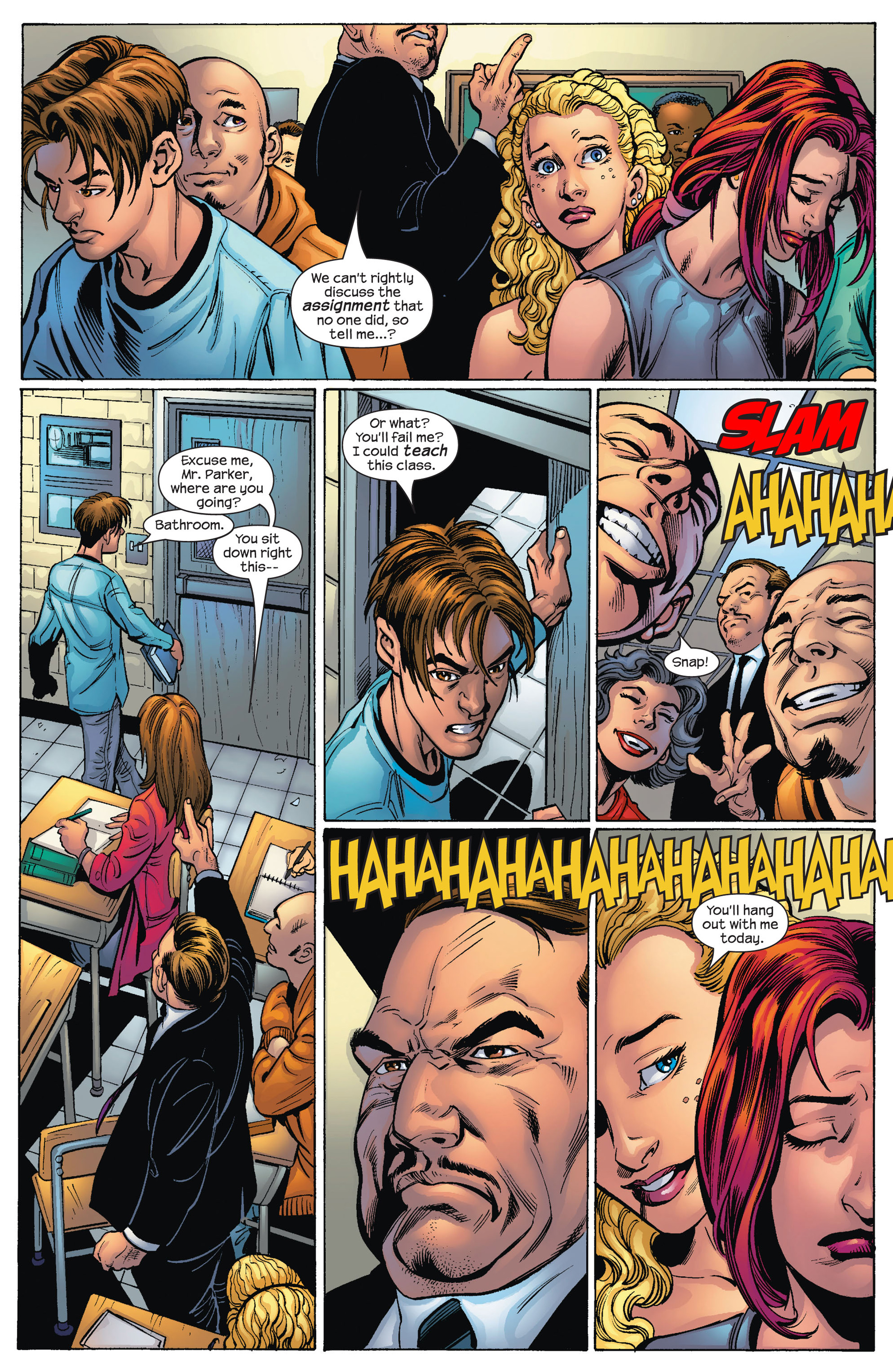 Read online Ultimate Spider-Man (2000) comic -  Issue #78 - 5