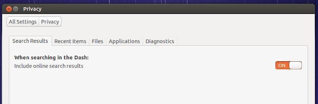 ubuntu1410 privacy