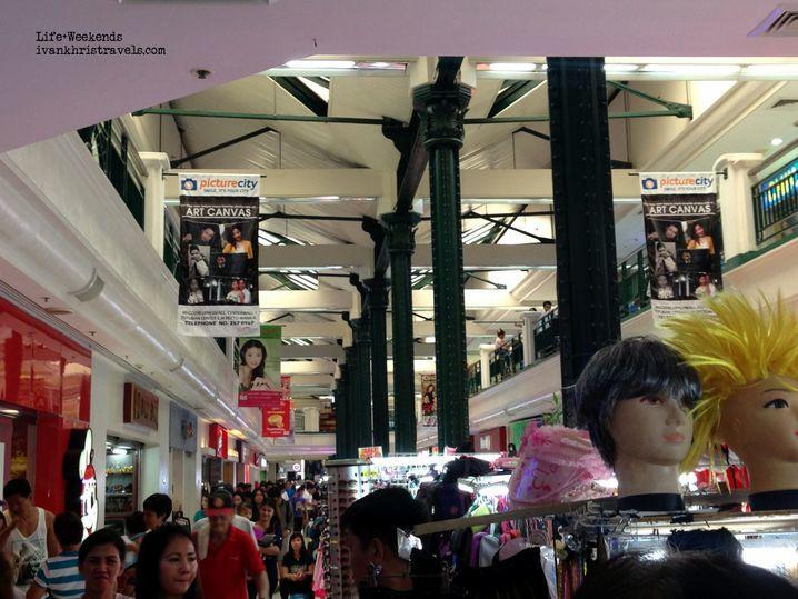 Shops inside Tutuban Center Mall