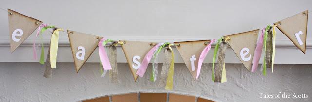Easter Pennant Banner