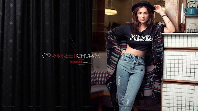 Top 10 Hot And Sexy Parineeti  Chopra Wallpapers 2016