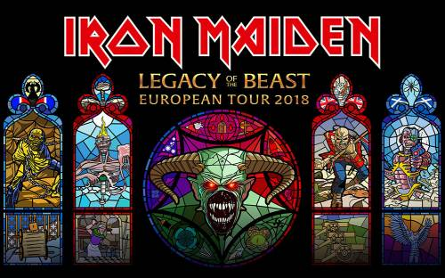 iron maiden The Legacy of the Beast World Tour