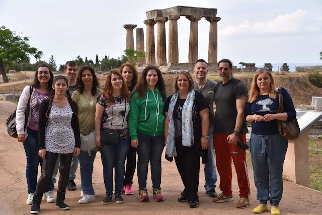 Εκπαιδευτική Επίσκεψη του Δ.ΙΕΚ Ναυπλίου στην Αρχαία Κόρινθο