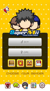 SuperMii- Make Comic Sticker Apk v2.4.0 Mod Free Coins