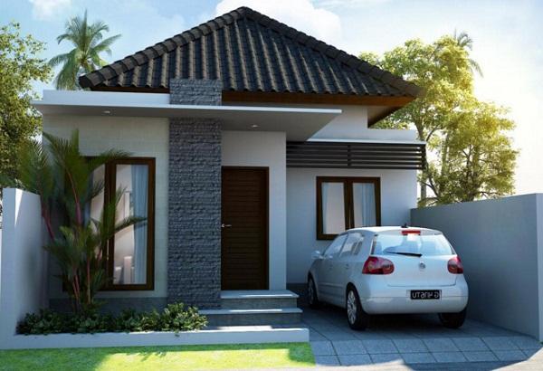 Model rumah ketika ini mempunyai perkembangan yang cukup pesat Foto Rumah Minimalis Terbaru 1 Lantai