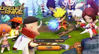 League of Anime Mod Apk  V0.1.0.2 gratis semua karakter anime