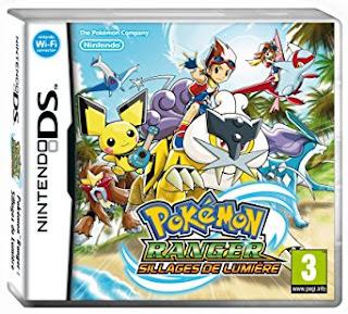 La boite DS du jeu Pokémon ranger