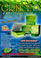 Distributor Resmi grece body crystal
