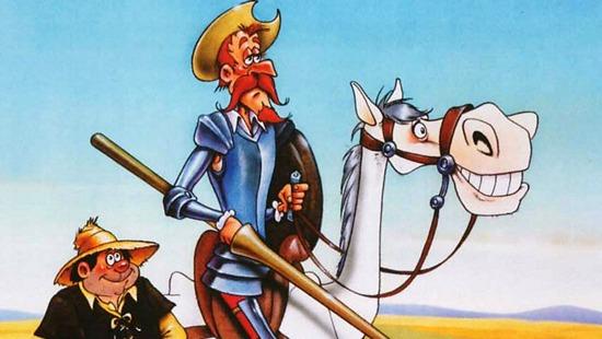 Don Quijote en dibujos animados de RTVE