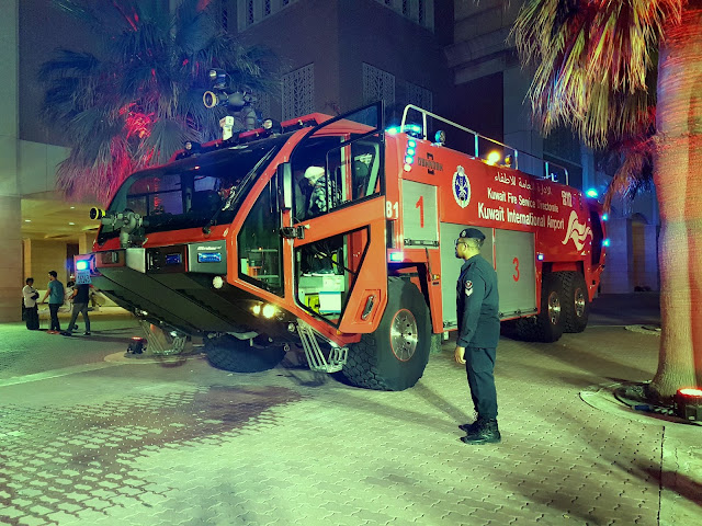 Kuwait International Airport Fire Truck