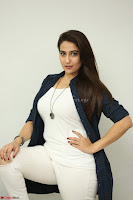 Manjusha in White Tight T Shirt and Black Jacket ~  Exclusive Celebrities Galleries 012.JPG