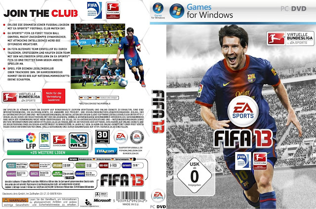 FIFA 13 PC Full Version Download