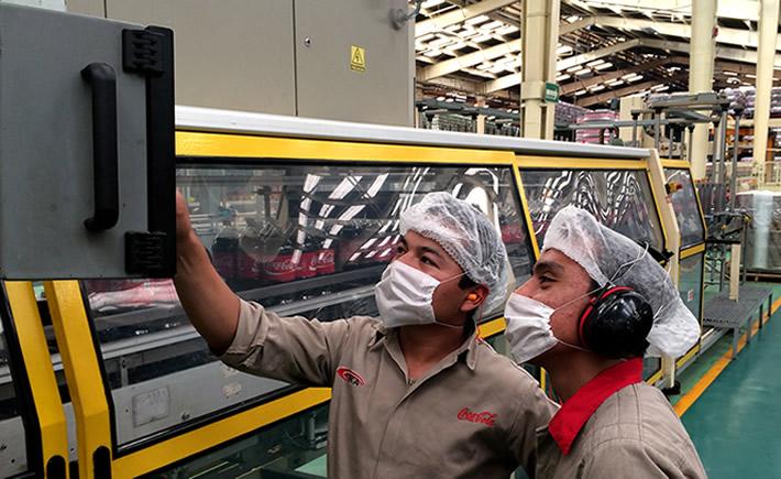 En 2013, la planta de Toluca, Estado de México, fue la primera en lograr la meta de reciclaje del 100% de sus residuos. (Foto: Sustentabilidad Coca-Cola)