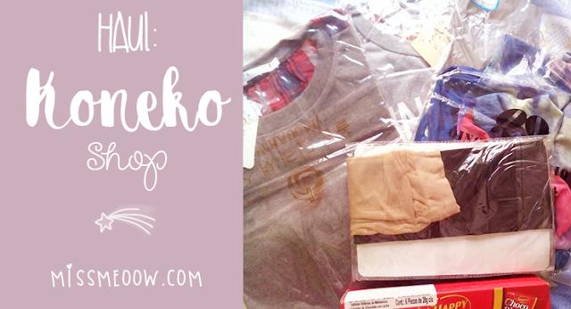 ♡Haul: Koneko Shop