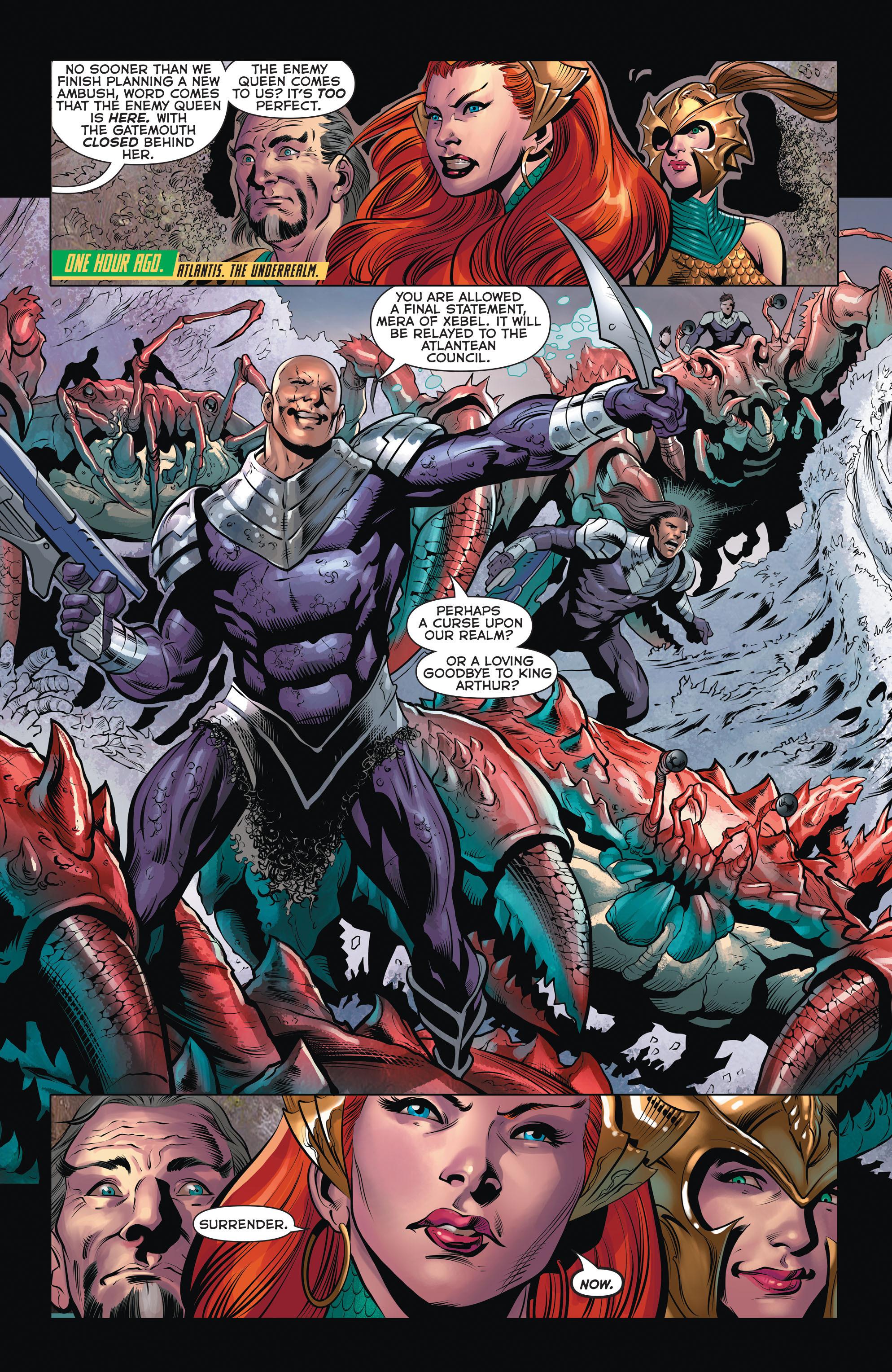 Read online Aquaman (2011) comic -  Issue #32 - 10