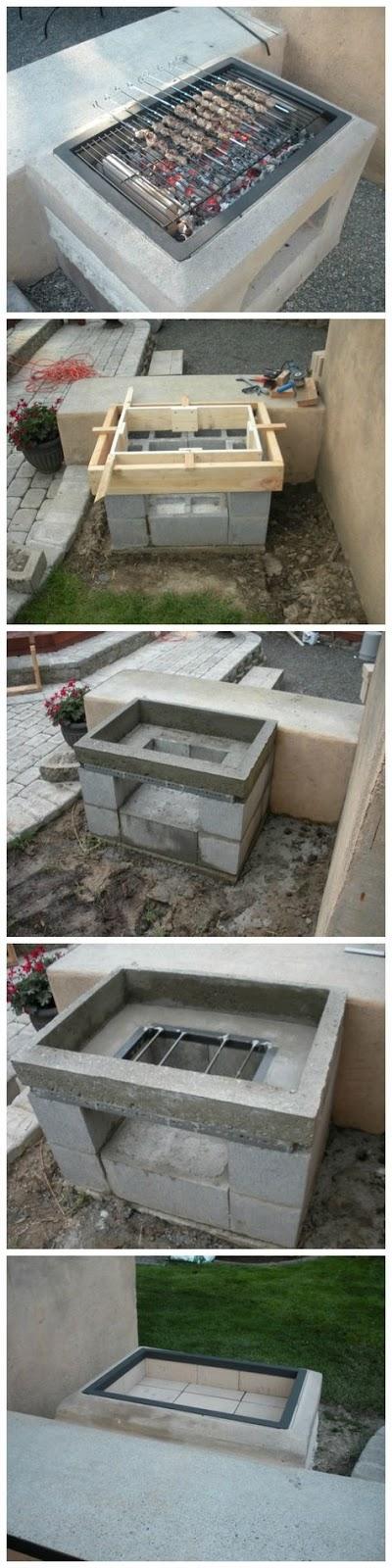 Cómo construir una barbacoa en casa