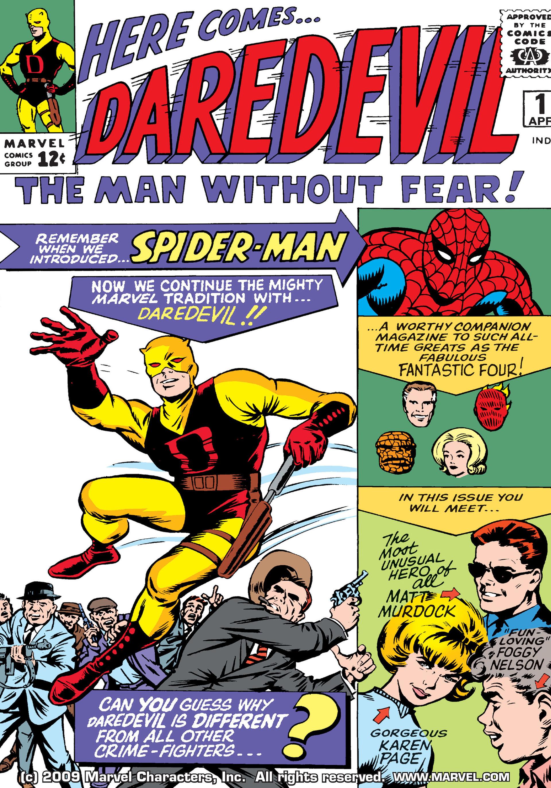 Daredevil (1964) -1 Page 1