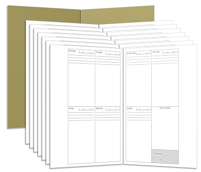 How to saddle-stitch your booklets