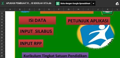 Aplikasi Pengeditan RPP Silabus Otomatis Format Baru 2018