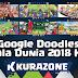 Google Doodles - Piala Dunia 2018 H-11