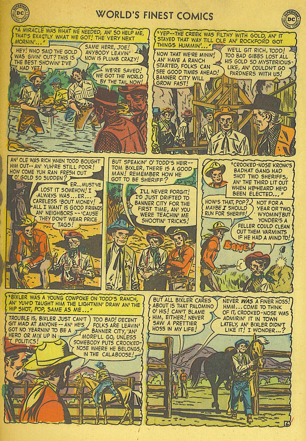 Read online World's Finest Comics comic -  Issue #57 - 34