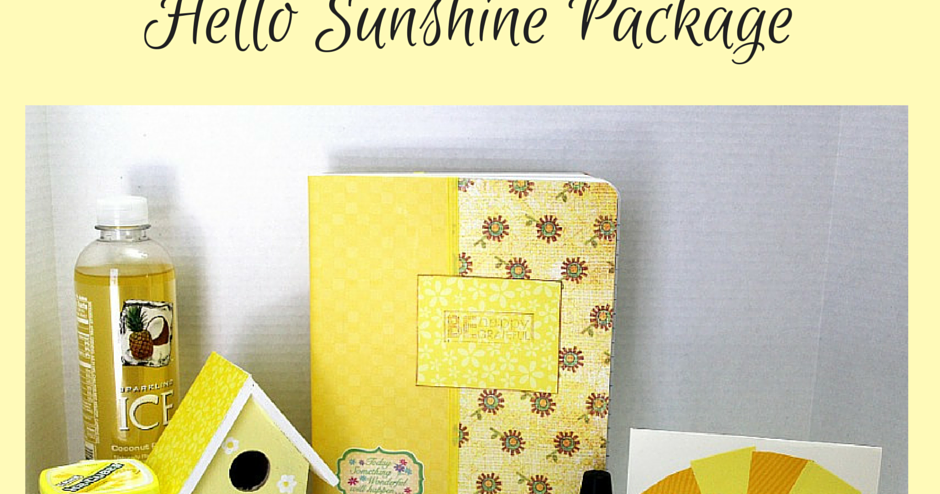 Hello Sunshine Package Home Crafts By Ali