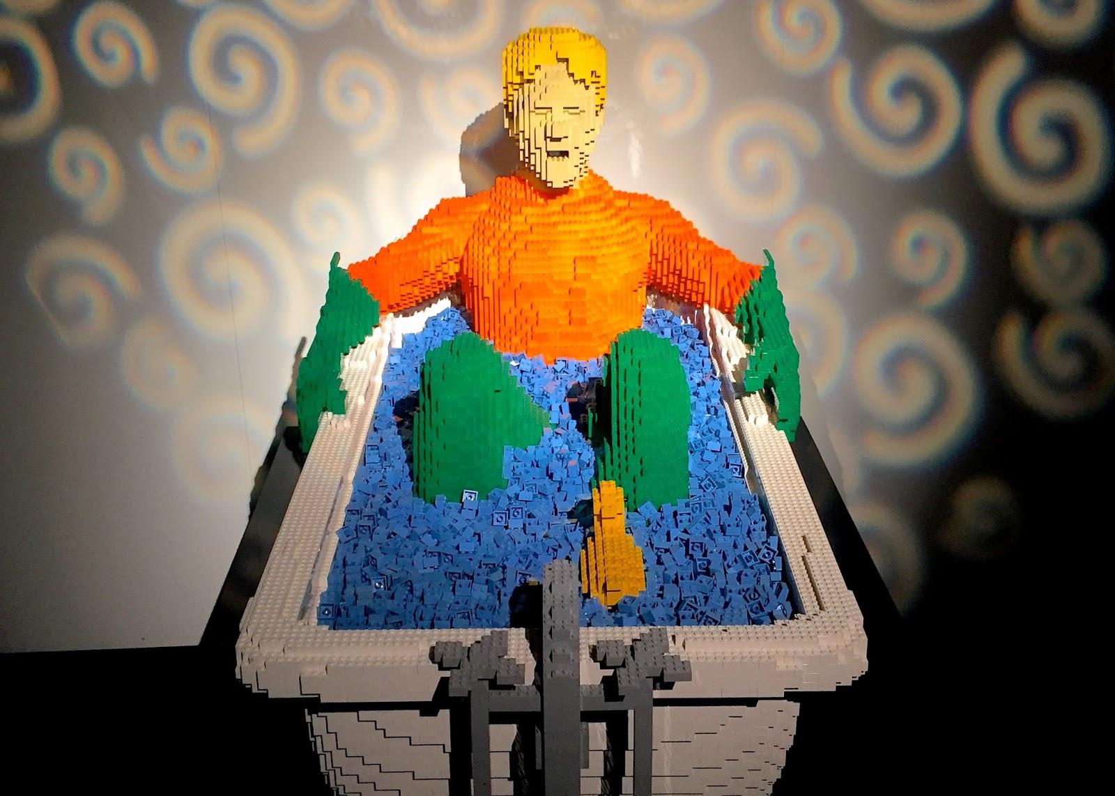 LEGO Bathtub