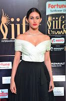Amyra Dastur in White Deep neck Top and Black Skirt ~  Exclusive 016.JPG
