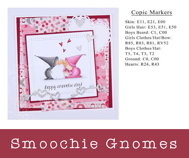Heather's Hobbie Haven - Smoochie Gnomes Card Kit