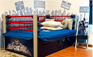 Habitación temática boxeo