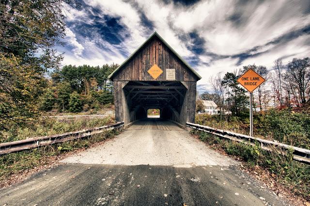 Covered bridge road-Lincoln