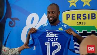 Carlton Cole Kembali ke Persib Bandung