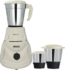 Inalsa Astra LX 550 W Mixer Grinder for Rs.1549 @ Flipkart (2 Yrs Warranty)