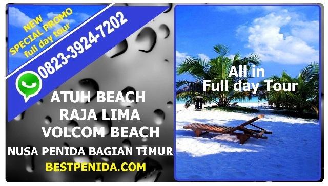 PAKET TOUR NUSA PENIDA BAGIAN TIMUR