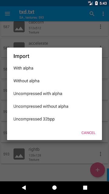 Download TXD Tool APK Gratis Versi Terbaru For Android