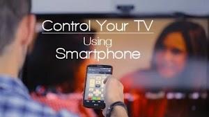هل يمكن التحكم في التلفاز عن بعد عن طريق الهاتف الذكي؟
