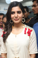 Samantha Ruth Prabhu Smiling Beauty in White Dress Launches VCare Clinic 15 June 2017 045.JPG