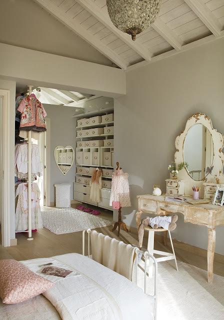 Dormitorio para una adolescente cocochic - Dormitorio de nina ...