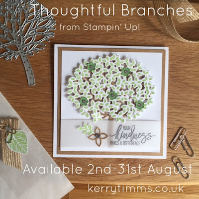 thoughtful branches kerry timms handmade card tree flowers crafts create papercraft class gloucester wedding invite invitation homemade